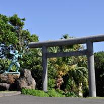 種子島観光門倉岬入り口