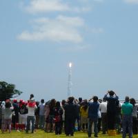 町営グランドロケット打ち上げ見学場